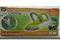 "Garden groom ""Midi"" 3 in 1 collecting hedge trimmer. Tested working and boxed."