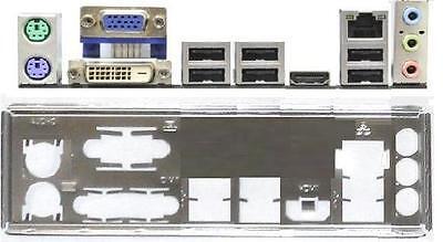 ATX Blende I/O shield Asus B85M-G #626 io So. 1150 OVP NEU backplate bracket NEW
