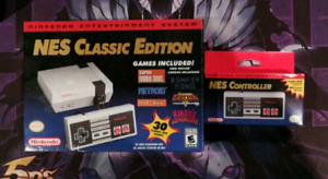 Nes classic / mini with additional controller.