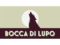 Kitchen porter position at Bocca di Lupo, an award winning Italian restaurant in Soho