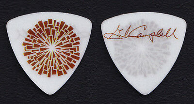 Glen Campbell Signature White/Brown Guitar Pick 2012 Goodbye Tour