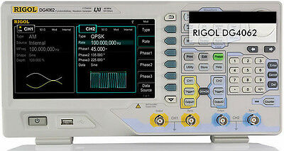 New Rigol Functionarbitrary Waveform Generators Dg4062 60mhz 500msas 14 Bits