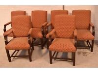 6 Upholstered chairs for sale