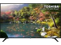"BRAND NEW 58""TOSHIBA 4K SMART £320"