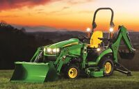 WTB: Sub-compact lawn tractor loader, snowblower - acreage use