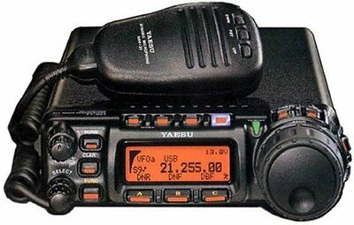 Yaesu FT-857D Amateur Radio - HF, VHF, UHF All-Mode 100W - Authorized Dealer ()