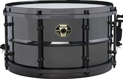 Ludwig Drums Black Magic 7 X 13 Black Nickel Over Brass Shell Snare Lw0713 New
