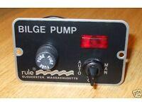 rule 3 way bilge pump witch