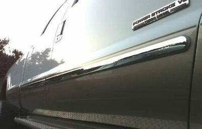 """1999-2004 Ford F-250 Super Duty SuperCab 4Pc Body Side Molding Trim Overlay 3"""""""