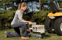 tow behind lawn areator