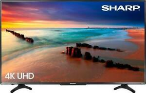 "SHARP AQUOS 55 "" 4K UHD HDR SMART TV BLOWOUT SALE $499.99 **NO TAX**"