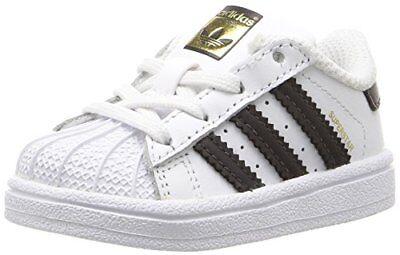 adidas Originals Boys Superstar I Running Shoe- Pick SZ/Colo