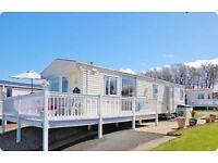 £295 Easter Weekend. Caravan for Hire, Craig Tara, Ayr, Sea Views, Veranda
