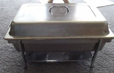 Polarware Chafer Dish Stainless Steel 6 Pieces 8 Qt Used
