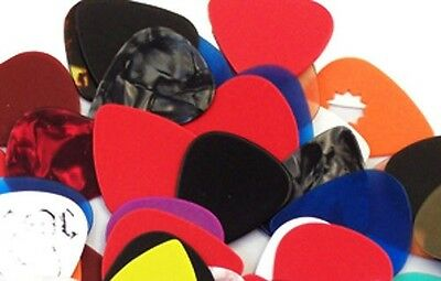 Pack of 25  Assorted Guitar Picks - 351 style - New Free Shipping