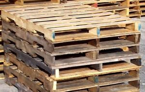 I am looking for free skids/pallets