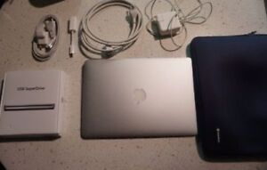 "2011 mid MacBook Air 13"" Laptop (A+ condition)"