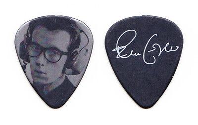 Elvis Costello Signature Photo Guitar Pick #2 - 2014