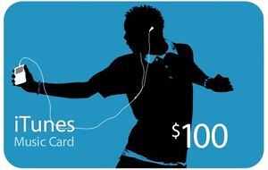 Selling Apple iTunes Gift Card $100