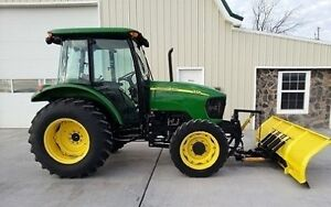 67 H.P. Tractor 05 John Deere 5325 With Plow Cab AC