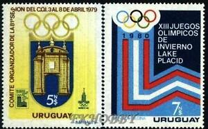 Uruguay 1979 Mi 1522-23 ** Olimpiada Olympiade Olympics Lake Placid Sport - <span itemprop='availableAtOrFrom'> Dabrowa, Polska</span> - Uruguay 1979 Mi 1522-23 ** Olimpiada Olympiade Olympics Lake Placid Sport -  Dabrowa, Polska