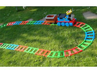 Thomas the tank engine ride on with track