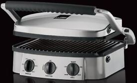 Griddle and Grill. Endorsed by Gordon Ramsay.
