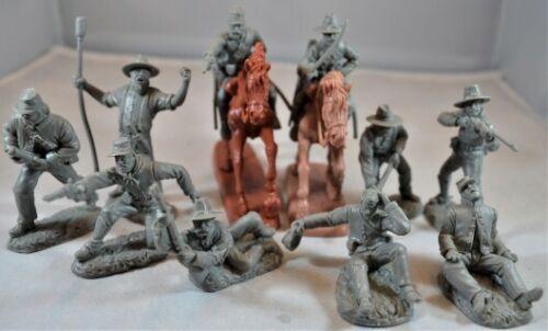 1:32 Civil War Artillery Cavalry Confederate Plastic Toy Soldiers San Diego #12