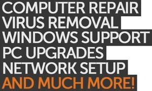 EXPERT LAPTOP AND PC REPAIR AND SERVICES - LOW FLAT RATE