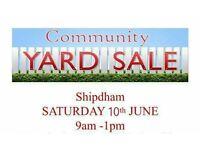 Shipdham community yardsale