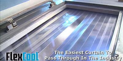 Himi Flex Cool Walk In Cooler Freezer Strip Curtain 55 X 84