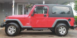 Jeep LJ Unlimited longer version of Jeep TJ