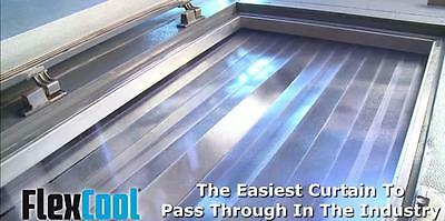 Himi Flex Cool Walk In Cooler Freezer Strip Curtain 49 X 84 Easy To Install