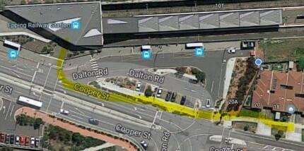 Location Location Location. 1 big bedroom