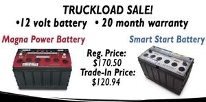 NEW 12 Volt Battery - 20 Month Warranty - Toughest You Can Buy!