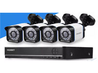 Complete 4 channel HD CCTV system - brand new