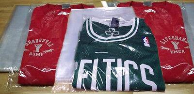 300-clear 200-9x12 100-12x15 Poly T-shirtapparel Plastic Bags W 2 Back Flap