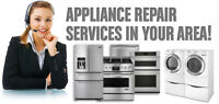 APPLIANCE REPAIRS Over 45 years experience.