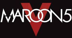 MAROON 5 >>> SATURDAY FEBRUARY 25th 7:30pm >>>10 ROWS FROM STAGE
