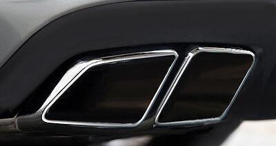 Mercedes Benz ML W164 NEW AMG 63 - Look Sportendrohr links u. rechts Edelstahl