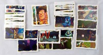 1996 Panini Toy Story 1 Series 2 Sticker Set 66+22 Alpha Stickers -