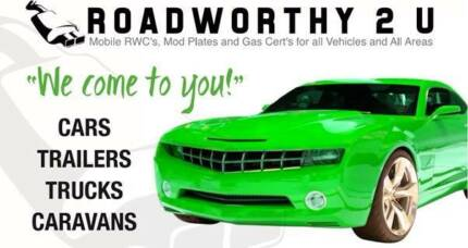 Roadworthy 2 U Mobile Safety Certificate Brisbane SAME Day RWC