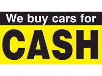 We buy any cars cash vans m.o.t faliure /scrap /accident repairs / TOP PRICE PAID