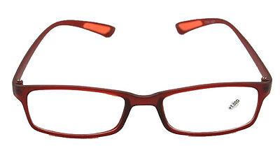 Lesebrille / Lesehilfe / Sonnenbrille AUTUMN rot | + 0,25 bis +4,00 | NEU