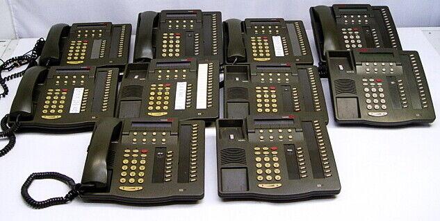 Lot of 10 Lucent Avaya 6424D+ Office Telephone Phones