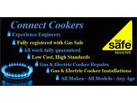 REGISTERED GAS ENGINEER - PROFESSIONAL COOKER INSTALLER CORGI GAS FIT CONNECT PLUMBING