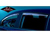 Wind Deflectors AUDI VAUXHALL FORD VW VOLKSWAGEN RENAULT HYUNDAI BMW HONDA TOYOTA PEUGEOT SEAT FIAT