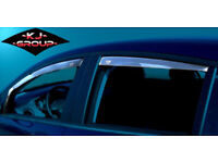 Wind Deflectors AUDI VAUXHALL FORD VW VOLKSWAGEN RENAULT TOYOTA BMW HONDA CITROEN PEUGEOT SEAT FIAT