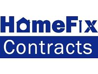 HOMEFIX CONTRACTS ALL JOINERY, BUILDING & ROOFING UNDERTAKEN GUARANTEED CRAFTSMANSHIP FREE ESTIMATE