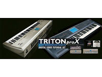 KORG Triton DVD Tutorials - Pro, Studio, Extreme and LE versions